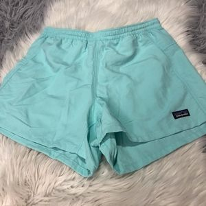Women's Mint Blue Patagonia Shorts